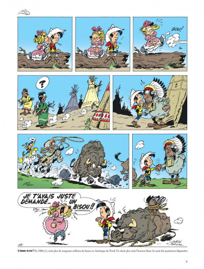 Page 9 Les aventures de Kid Lucky tome 1