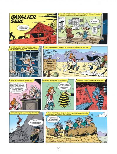Page 3 lucky luke - les nouvelles aventures de lucky luke tome 5 - cavalier seul