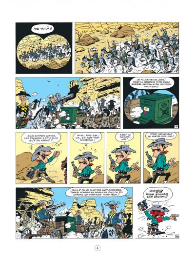 Page 4 lucky luke - les nouvelles aventures de lucky luke tome 5 - cavalier seul