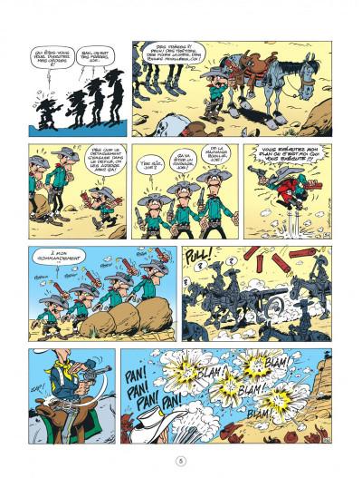Page 5 lucky luke - les nouvelles aventures de lucky luke tome 5 - cavalier seul