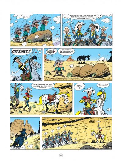 Page 6 lucky luke - les nouvelles aventures de lucky luke tome 5 - cavalier seul