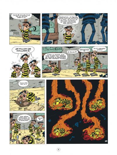 Page 8 lucky luke - les nouvelles aventures de lucky luke tome 5 - cavalier seul