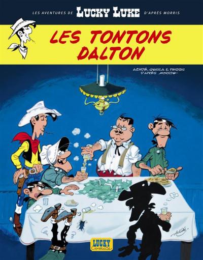 Couverture les nouvelles aventures de Lucky Luke tome 6 - les tontons Dalton