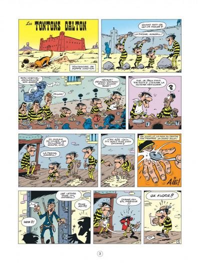 Page 3 les nouvelles aventures de Lucky Luke tome 6 - les tontons Dalton