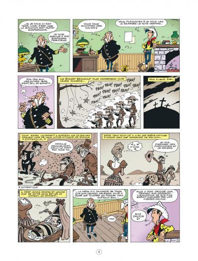Page 4 les nouvelles aventures de Lucky Luke tome 6 - les tontons Dalton