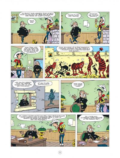 Page 5 les nouvelles aventures de Lucky Luke tome 6 - les tontons Dalton
