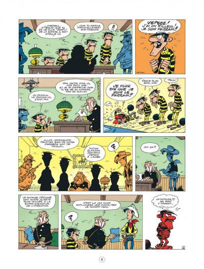Page 6 les nouvelles aventures de Lucky Luke tome 6 - les tontons Dalton
