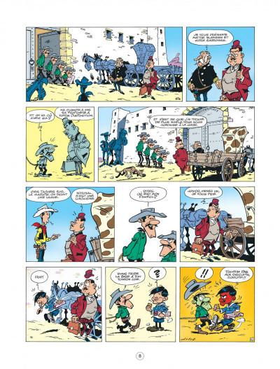 Page 8 les nouvelles aventures de Lucky Luke tome 6 - les tontons Dalton