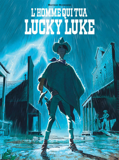 Couverture Lucky Luke vu par... tome 1 - L'homme qui tua Lucky Luke
