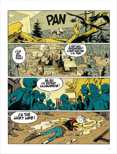 Page 5 Lucky Luke vu par... tome 1 - L'homme qui tua Lucky Luke