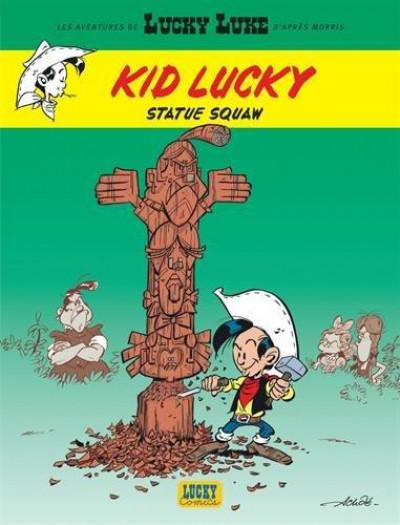 Couverture Les aventures de Kid Lucky tome 3
