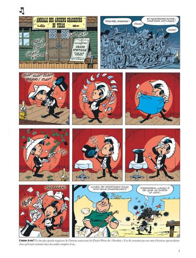 Page 5 Les aventures de Kid Lucky tome 3