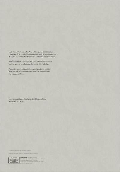 Page 2 Lucky Luke tirage de tête tome 8