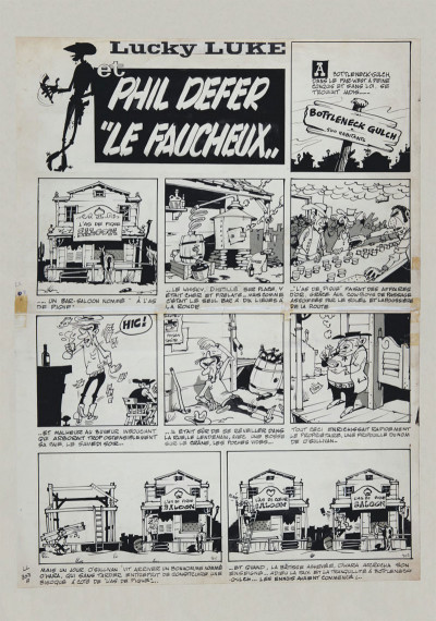 Page 3 Lucky Luke tirage de tête tome 8