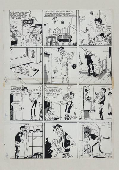Page 6 Lucky Luke tirage de tête tome 8