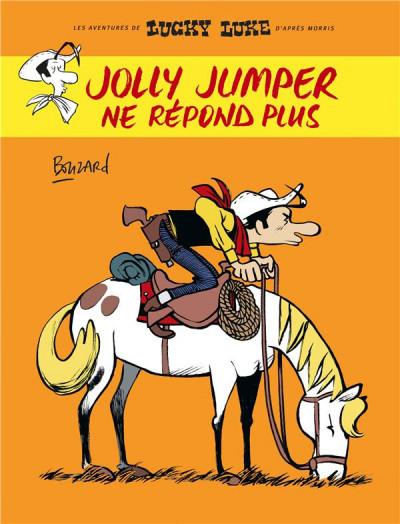 Couverture Lucky Luke vu par... tome 2 - Jolly Jumper ne répond plus