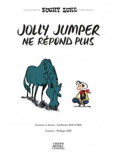 Page 1 Lucky Luke vu par... tome 2 - Jolly Jumper ne répond plus