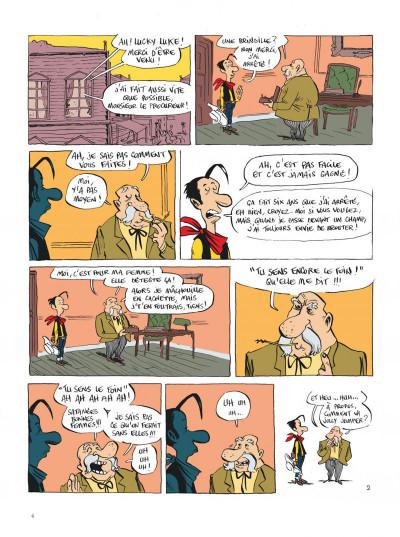 Page 4 Lucky Luke vu par... tome 2 - Jolly Jumper ne répond plus