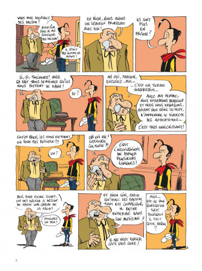 Page 6 Lucky Luke vu par... tome 2 - Jolly Jumper ne répond plus