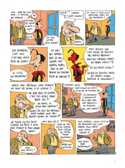 Page 7 Lucky Luke vu par... tome 2 - Jolly Jumper ne répond plus