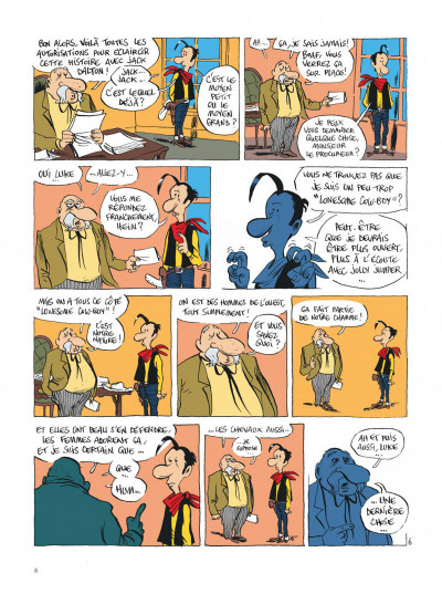 Page 8 Lucky Luke vu par... tome 2 - Jolly Jumper ne répond plus