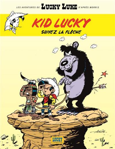 Couverture Les aventures de Kid Lucky tome 4