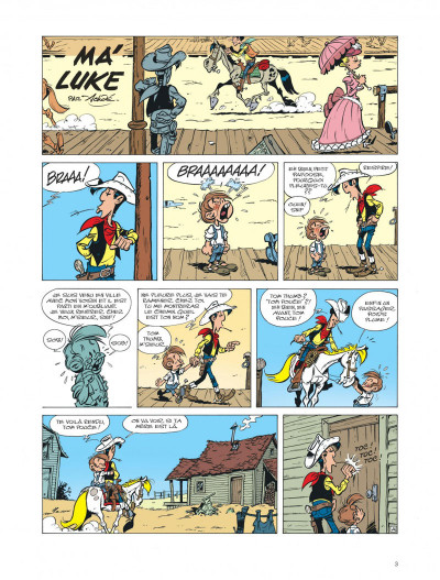 Page 2 Les aventures de Kid Lucky tome 4