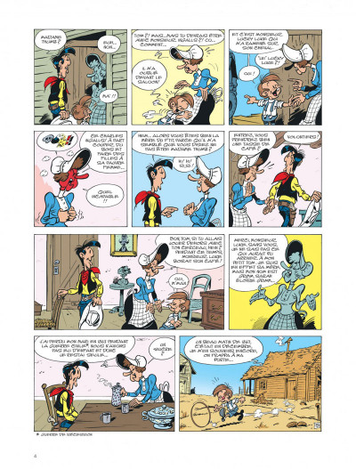 Page 4 Les aventures de Kid Lucky tome 4