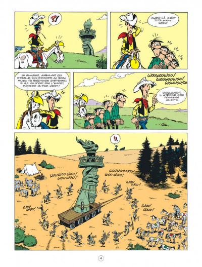 Page 4 Lucky Luke - Les nouvelles aventures tome 8 - Un cow-boy à Paris
