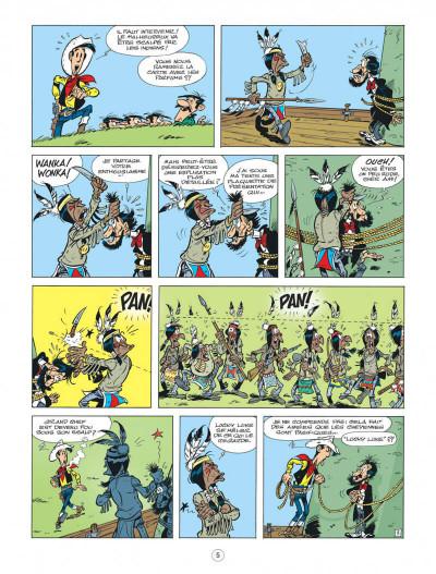 Page 5 Lucky Luke - Les nouvelles aventures tome 8 - Un cow-boy à Paris