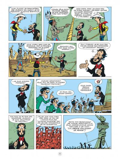 Page 6 Lucky Luke - Les nouvelles aventures tome 8 - Un cow-boy à Paris