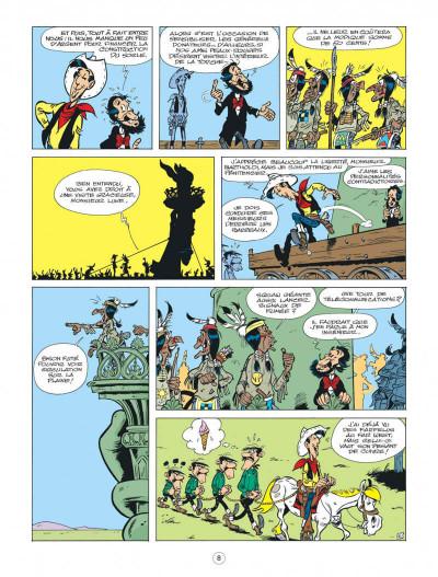 Page 8 Lucky Luke - Les nouvelles aventures tome 8 - Un cow-boy à Paris