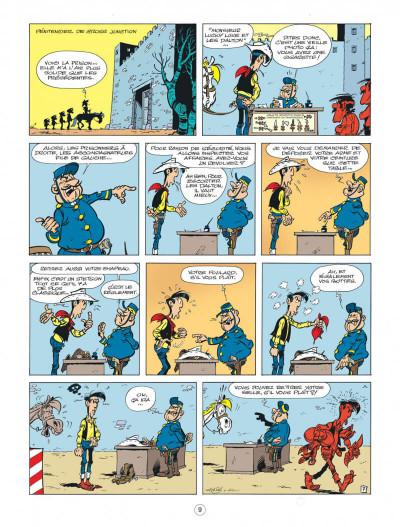 Page 9 Lucky Luke - Les nouvelles aventures tome 8 - Un cow-boy à Paris