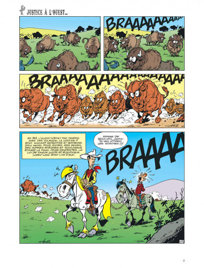 Page 3 Les aventures de Kid Lucky tome 5