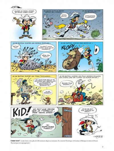 Page 9 Les aventures de Kid Lucky tome 5
