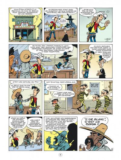 Page 6 Les nouvelles aventures de Lucky Luke tome 9 - Un cow-boy dans le coton