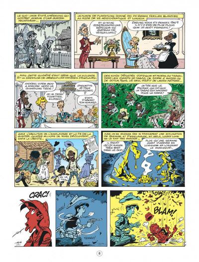 Page 8 Les nouvelles aventures de Lucky Luke tome 9 - Un cow-boy dans le coton