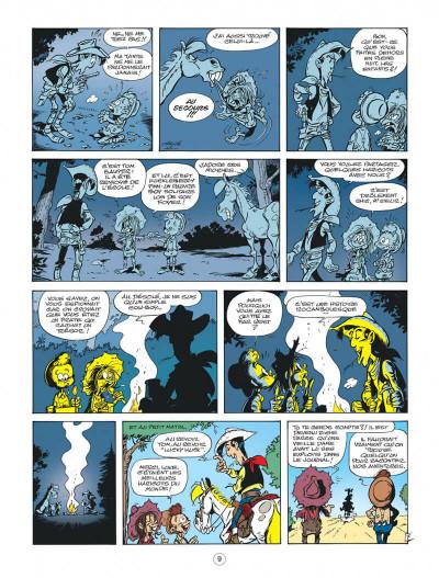 Page 9 Les nouvelles aventures de Lucky Luke tome 9 - Un cow-boy dans le coton