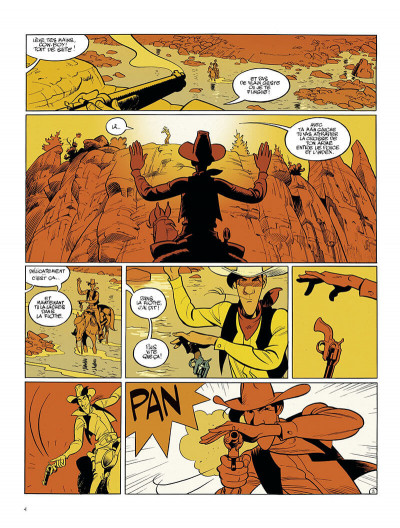Page 4 Wanted Lucky Luke
