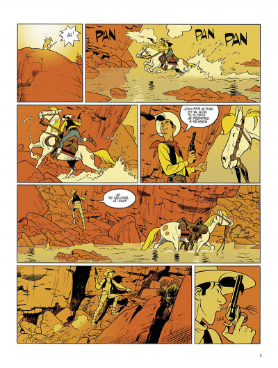 Page 5 Wanted Lucky Luke