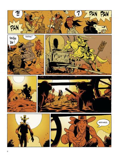 Page 8 Wanted Lucky Luke