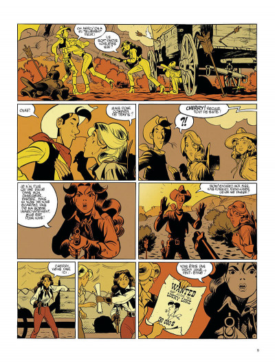 Page 9 Wanted Lucky Luke