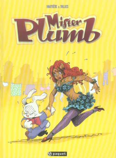 Couverture mister plumb tome 1