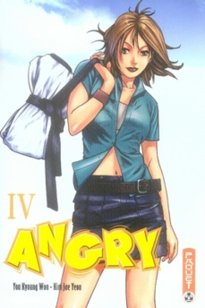 Couverture angry tome 4