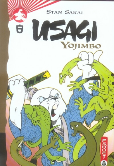 image de usagi yojimbo tome 8