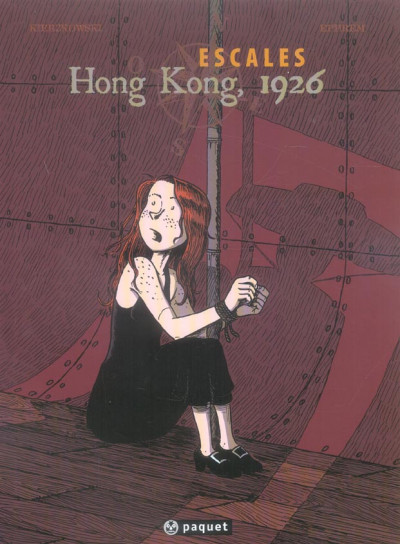Couverture escales tome 2 - hong kong 1926