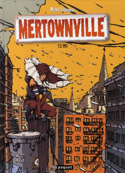 Couverture mertownville tome 3 - 1951