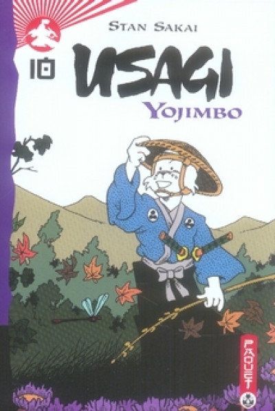 image de usagi yojimbo tome 10