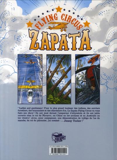 Dos tucker tome 1 - les derniers jours de zapata