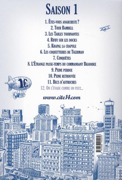 Dos cité 14 - saison 1 tome 11 - becs d'autruches